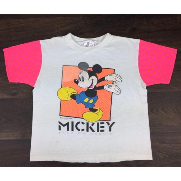 b7998e784cd86 Disney Tops - Vintage Disney Micky Mouse Shirt Size M